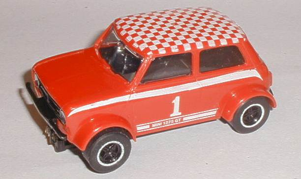Scalextric C122 Mini Clubman 1275gt Red