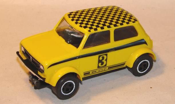 Scalextric C122 Mini Clubman 1275gt Yellow