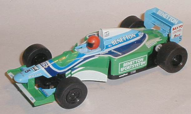 Scalextric car C237 Ford Benetton B193 1994 for sale