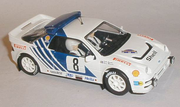 Scalextric car C3156 Ford RS200 Kalle Grundel & car C3156 Ford RS200 Kalle Grundel markmcfarlin.com