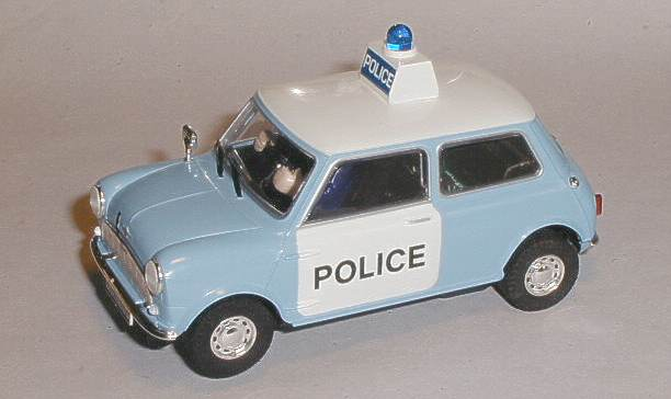 Scalextric cars - C3213 Morris Mini police car