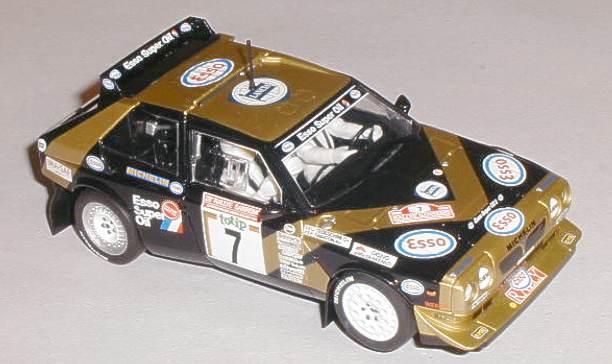 scalextric cars - c3490 lancia delta s4