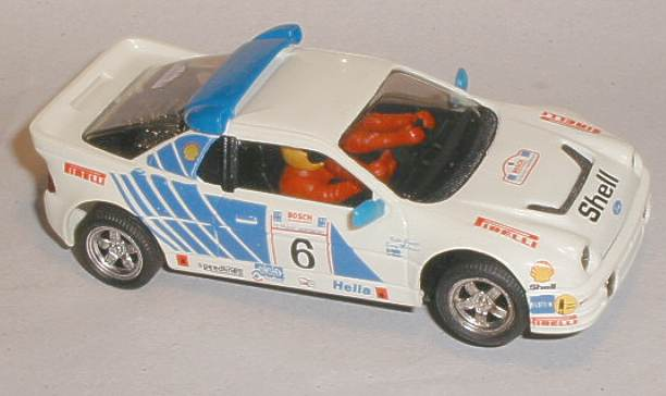 Scalextric Car Restorations - C432 Ford RS200 Shell decals