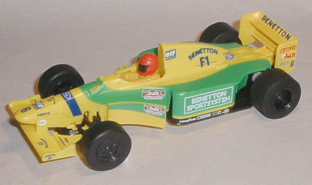 Benetton Renault B193A model of Michael Schumacher39;s winning car is