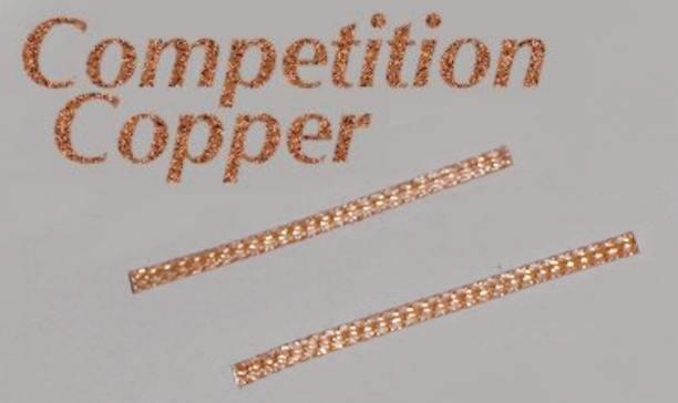 Greenhills Scalextric /& Slot Car Standard 100/% Copper Pick Up Braids Brushe...