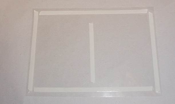 Scalextric parts cellophane window 1970s car box for Narrow windows for sale